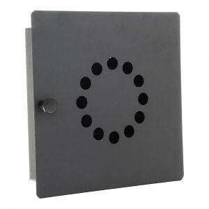 Profirst Schlüsselschrank Chiave 10 Magnetverschluss Anthrazit