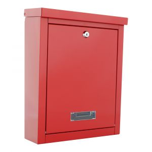 Rottner Briefkasten Brighton Rot